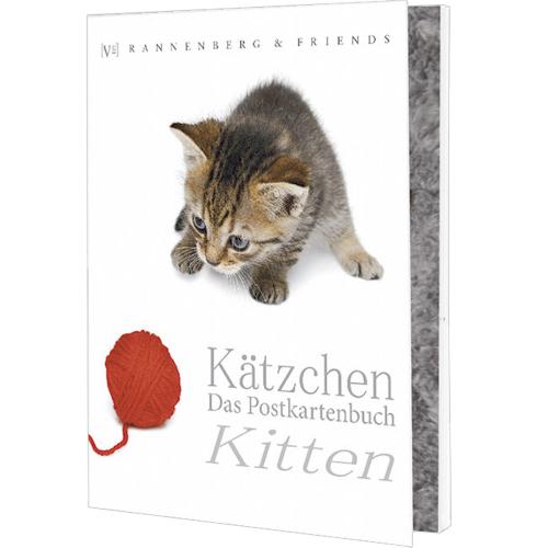 Postkartenbuch Kätzchen - 15 Karten