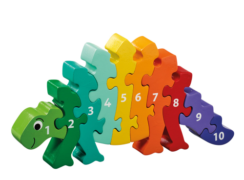 Puzzle »Dinosaurier 1-10«.