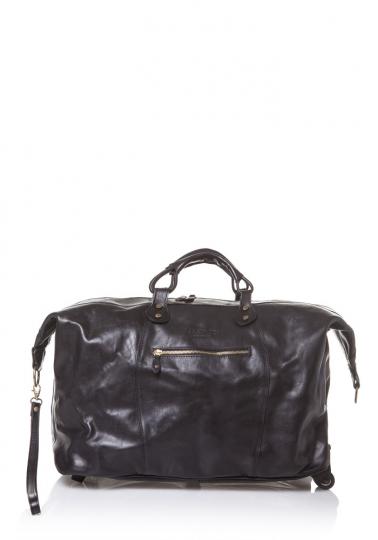 Reisetasche, schwarz.