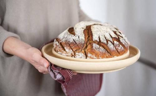 Runde Backplatte »Brot & Kuchen«, rund.