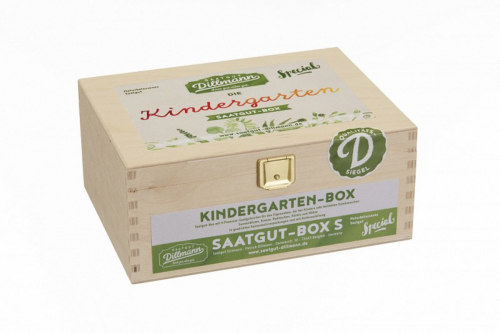 Saatgut-Box »Kindergarten«.