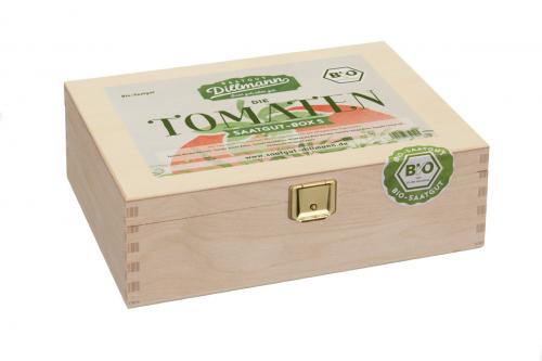 Saatgut-Box »Tomaten«.
