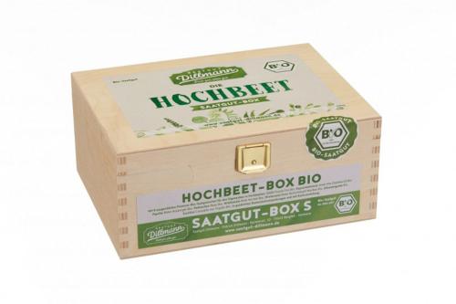 Saatgut-Set »Hochbeet«.