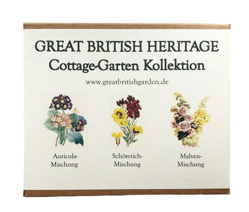 Samen für einen Cottage-Garten.