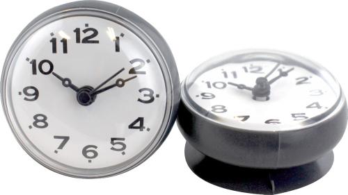 Uhren mit Saugnapf, 2er-Set.