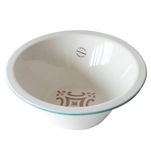 Portugiesische Keramik-Schale, groß.