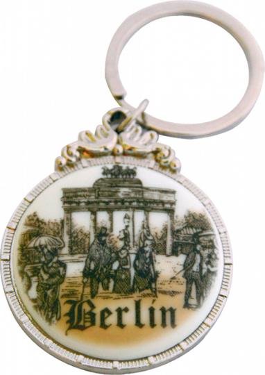 Schlüsselanhänger Brandenburger Tor.