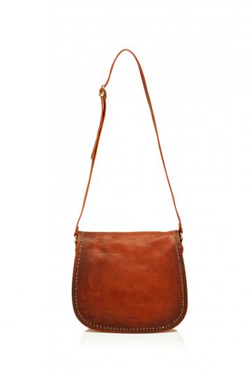 Damenhandtasche mit Nieten.