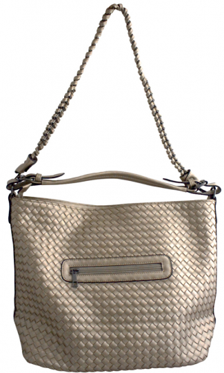 Shopper metallic, champagner.