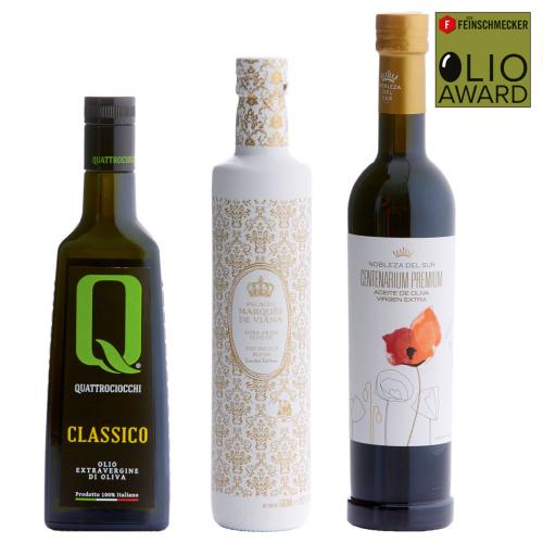 Sieger Olivenöl-Set »intensiv-fruchtig«.