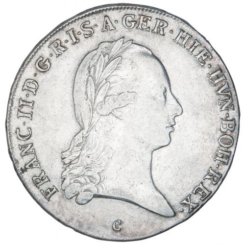 Silber Kronentaler Haus Habsburg Franz II. und I.