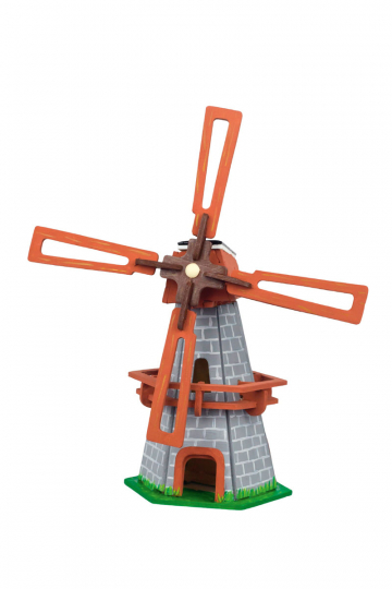 Solar-Holzbausatz »Windmill«.