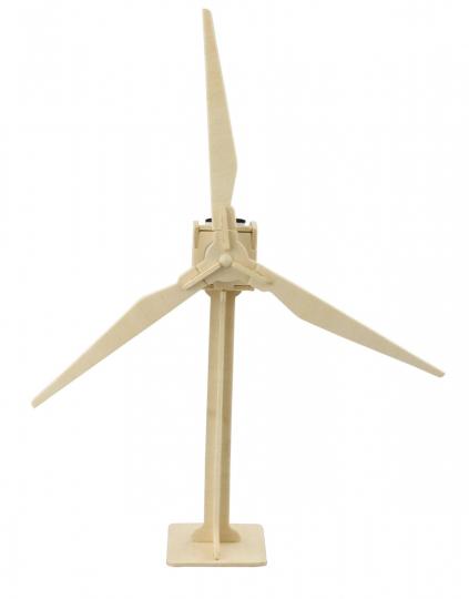 Solar-Holzbausatz »Windenergie«.