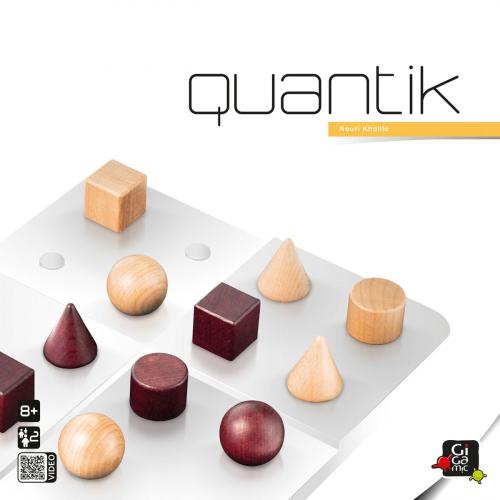 Strategiespiel »Quantik«.