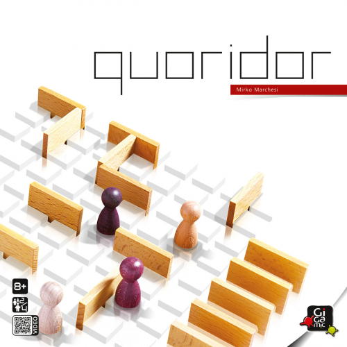 Strategiespiel »Quoridor«.