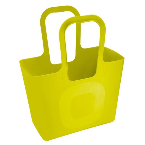 Tasche XL von Koziol in Gelb.