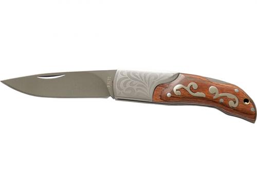 Taschenmesser mit dekorativem Griff.