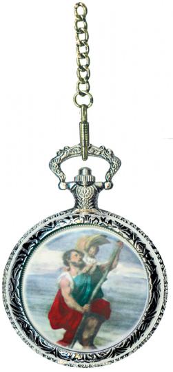 Taschenuhr Christopherus.