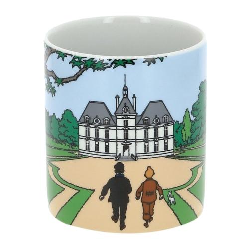Tasse Tim und Struppi Schloss Mühlenhof.