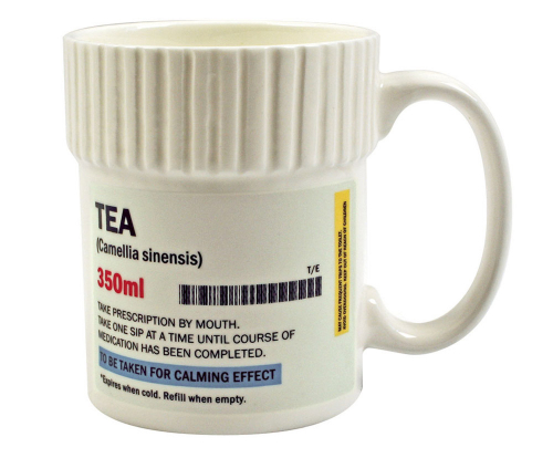 Teebecher »Medizin«.