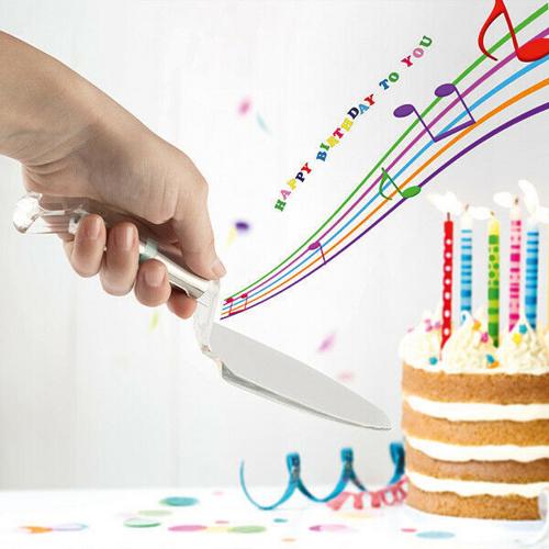 Tortenheber »Happy Birthday«.