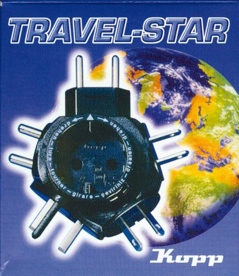 Travel Star Reisestecker-Adapter.