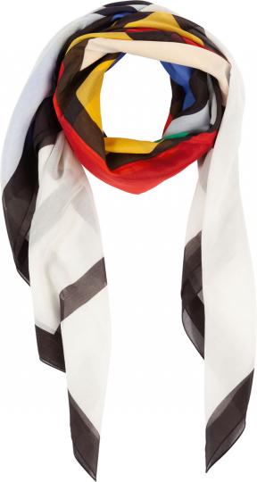 Tuch Piet Mondrian »Vierecke«.