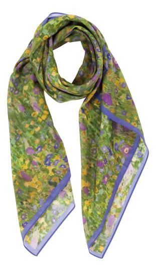 Tuch »Klimts Streublumen«.