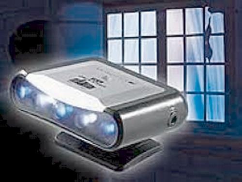 TV-Simulator zur Einbrecher-Abschreckung