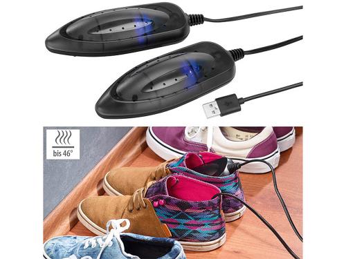 USB-Schuhtrockner mit UV-Licht.