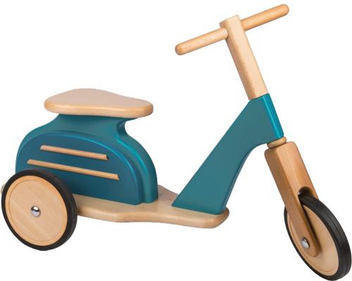 Vespa Roller für Kinder aus Holz.