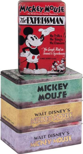 Vorratsdosen-Set »Mickey Mouse«.