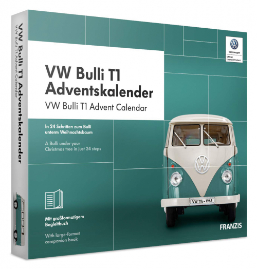 VW Bulli T1 Adventskalender.