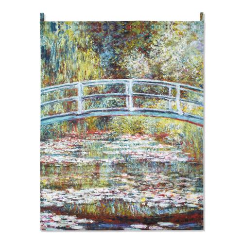 Wandbehang Claude Monet »Wasserlilien«.