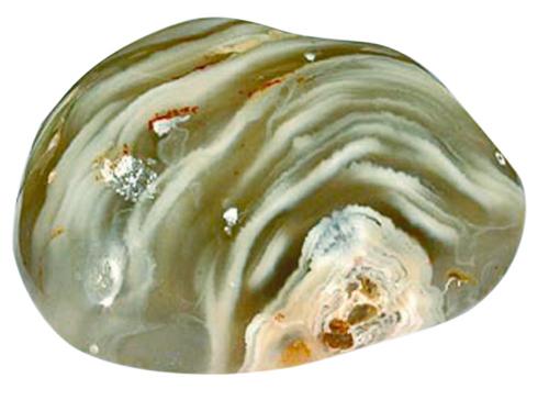 Wasserachat - Achat Geode mit Urwasser gefüllt.