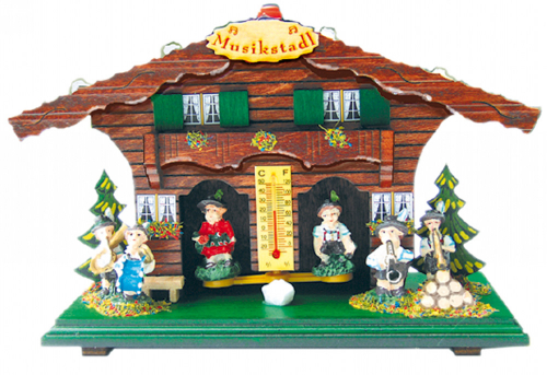 Wetterhaus »Musikstadl«.