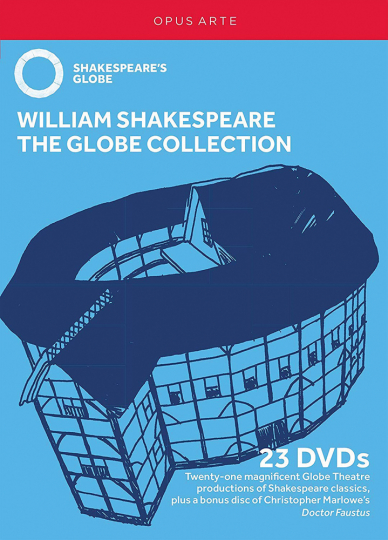 William Shakespeare. The Globe Collection. 23 DVDs.