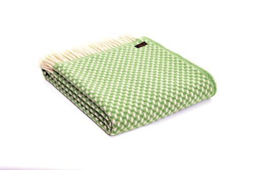Wolldecke Twill Green.