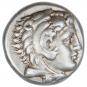 Antike Silber-Drachme Alexander der Große. Bild 1