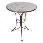Gartentisch mit Keramikkacheln. Bild 1