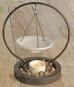 Aromalampe in Metallständer. Bild 1