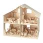Bausatz Puppenhaus mit Möbeln. Bild 1