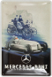 Blechschild »Mercedes-Benz« Silver Arrow Historic. Bild 1