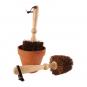 Blumentopf-Bürste. Bild 1
