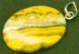 Bumblebee-Cabochon mit Silberöse. Bild 1