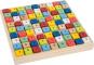 Buntes Sudoku aus Holz. Bild 1