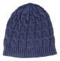 Mütze mit Kaschmir, blau. Bild 1