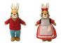 Die Häschenschule. Hasenhans & Hasengretchen Plüschfiguren. Bild 1