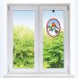 Fensterbild »Rotkehlchen«. Bild 1
