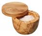 Gewürz- und Salztopf aus Olivenholz. Bild 1